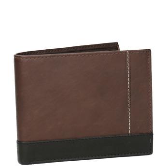 Men's leather wallet bata, brown , 944-8149 - 13