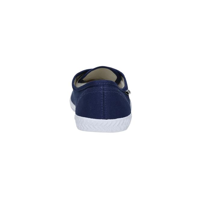 Blue textile sneakers tomy-takkies, blue , 519-9691 - 17