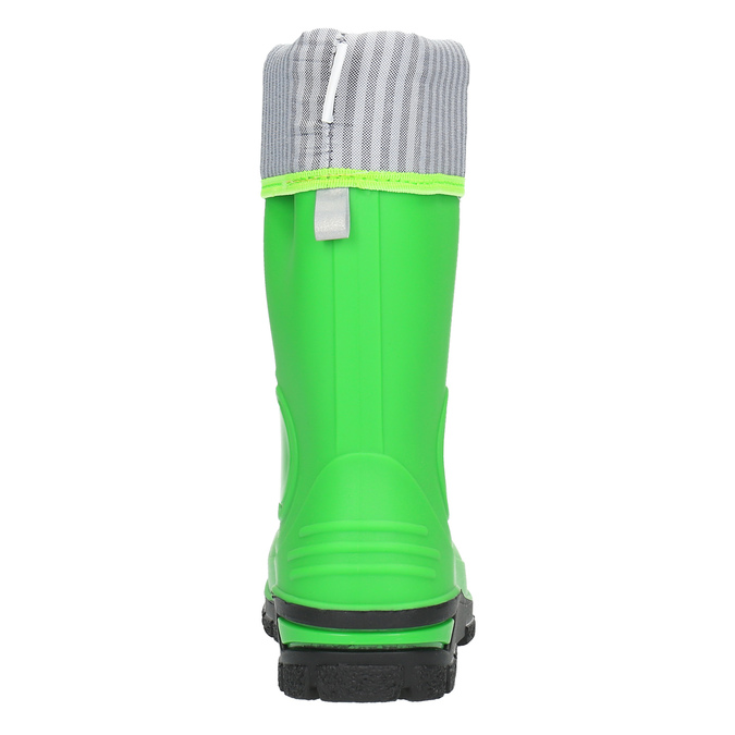 Children´s green Wellington boots mini-b, green, 292-7200 - 17