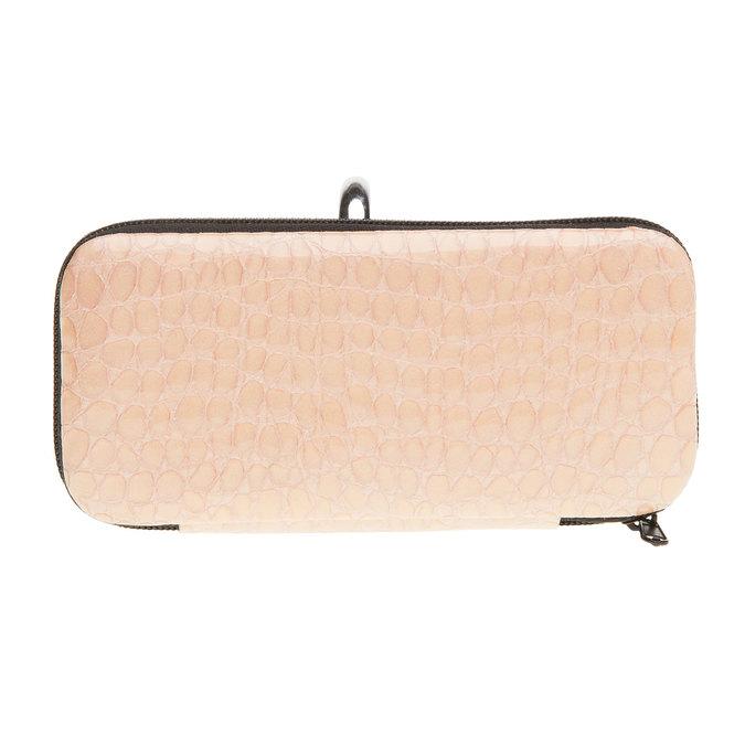 Manicure in a zippered leather case bata, multicolor, 944-0323 - 26