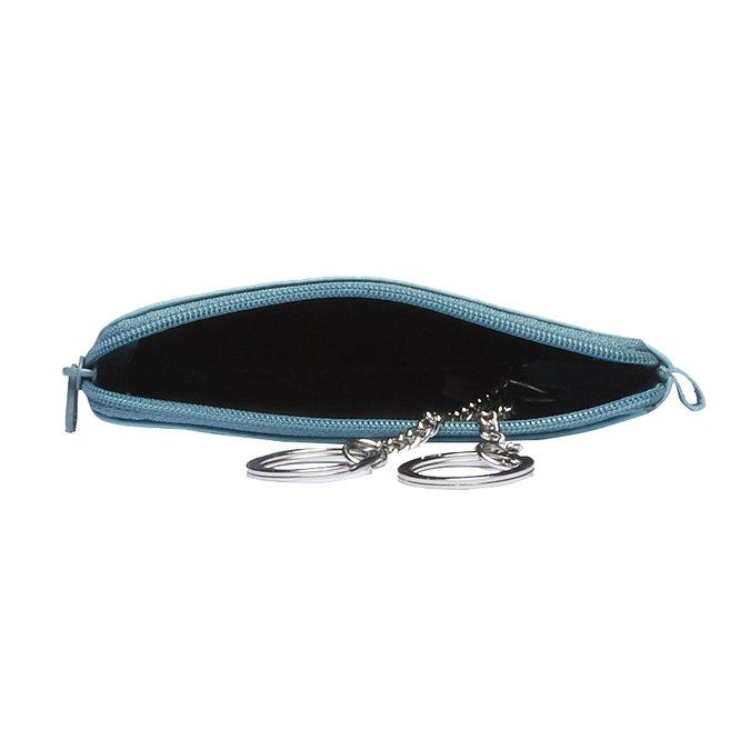 Leather purse bata, blue , 944-9161 - 15