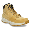Men's leather ankle boots nike, brown , 806-8435 - 13