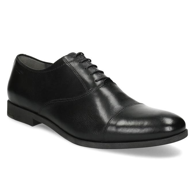 Black leather Oxford shoes vagabond, black , 824-6048 - 13