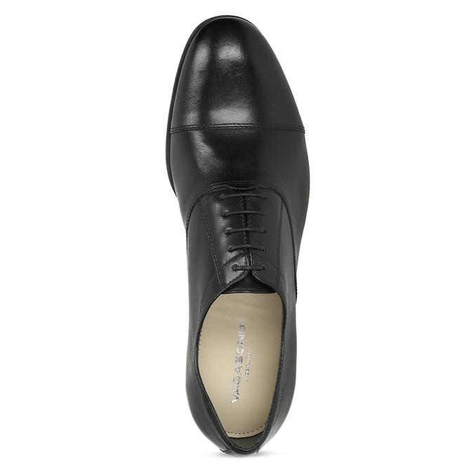 Black leather Oxford shoes vagabond, black , 824-6048 - 17