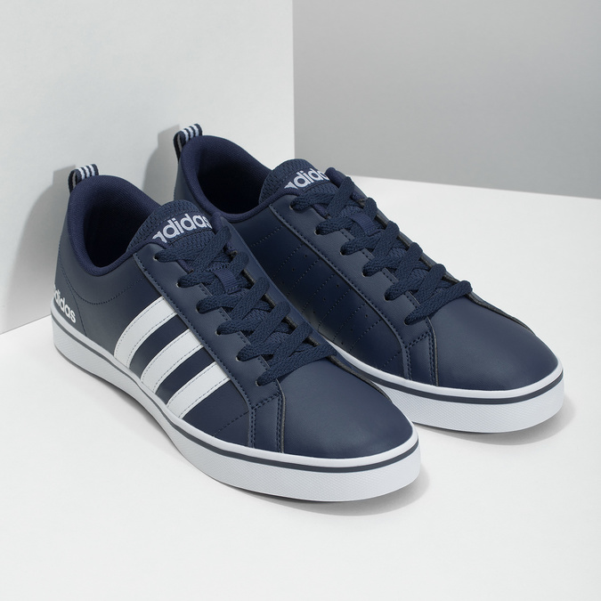 Men's casual sneakers adidas, blue , 801-9136 - 26
