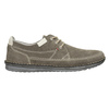 Casual leather shoes bata, gray , 853-2612 - 26