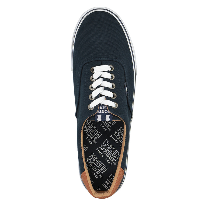 Men's blue sneakers north-star, blue , 889-9283 - 19