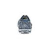 Ladies' patterned sneakers north-star, blue , 589-9445 - 17