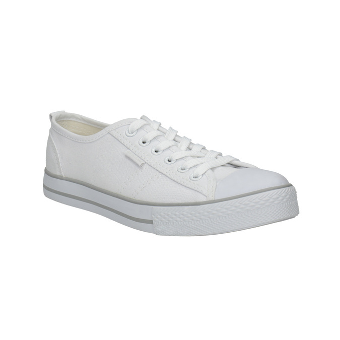 Ladies' casual sneakers north-star, white , 589-1443 - 13