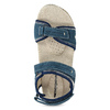 Ladies' leather sandals weinbrenner, blue , 566-9608 - 17