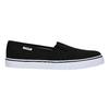 Ladies' black slip-ons tomy-takkies, black , 589-6170 - 15