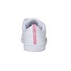 Kids' white sneakers adidas, white , 401-5133 - 17