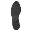 Ladies' shoes with stitching bata, black , 529-6632 - 26