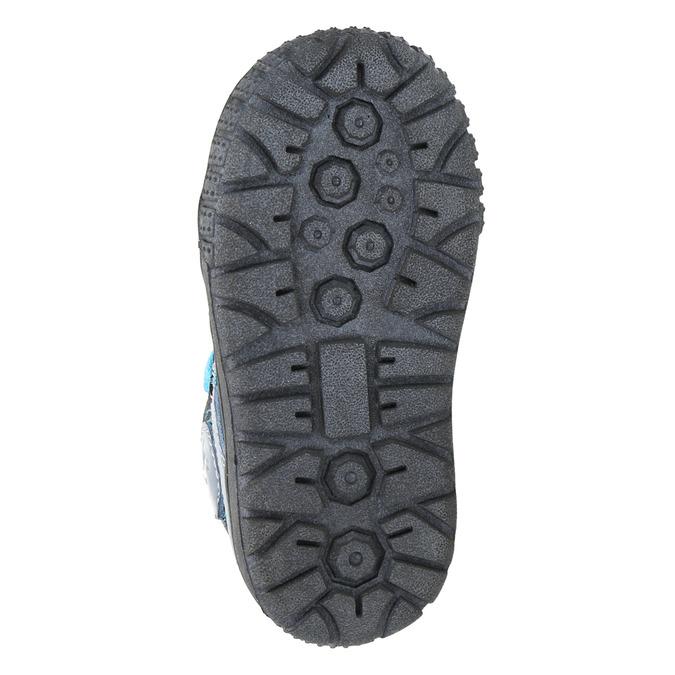 Boys' leather shoes bubblegummer, blue , 113-9601 - 26