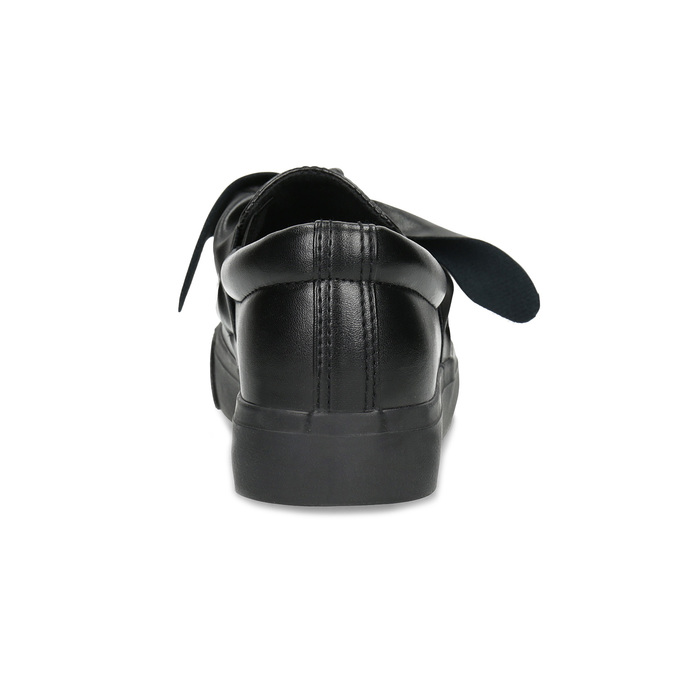 Slip-Ons with Bow north-star, black , 511-6606 - 15