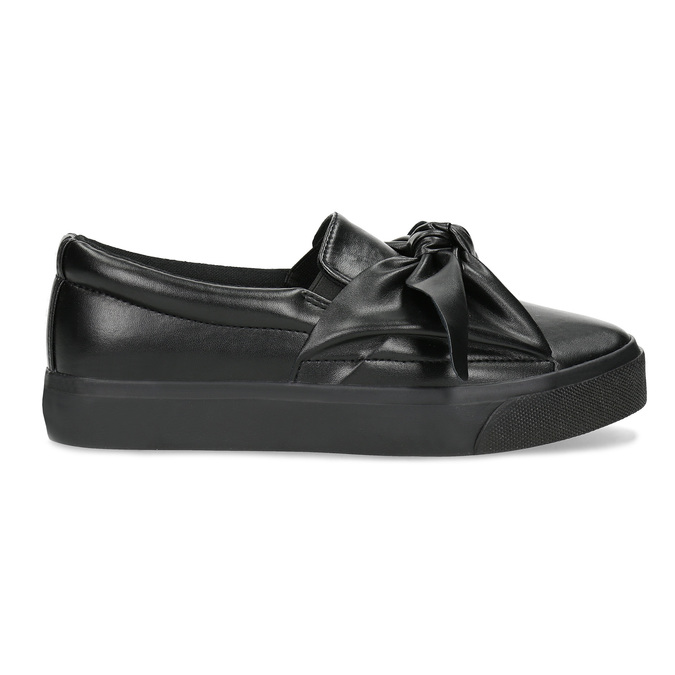 Slip-Ons with Bow north-star, black , 511-6606 - 19