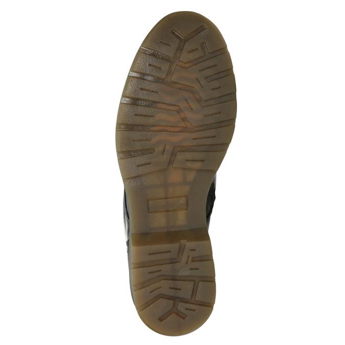 Ladies' Leather Ankle Boots bata, black , 594-6681 - 17