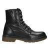 Ladies' Leather Ankle Boots bata, black , 594-6681 - 26