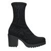 High Boots with Sturdy Heel vagabond, black , 729-6041 - 15