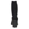 High Boots with Sturdy Heel vagabond, black , 729-6041 - 17