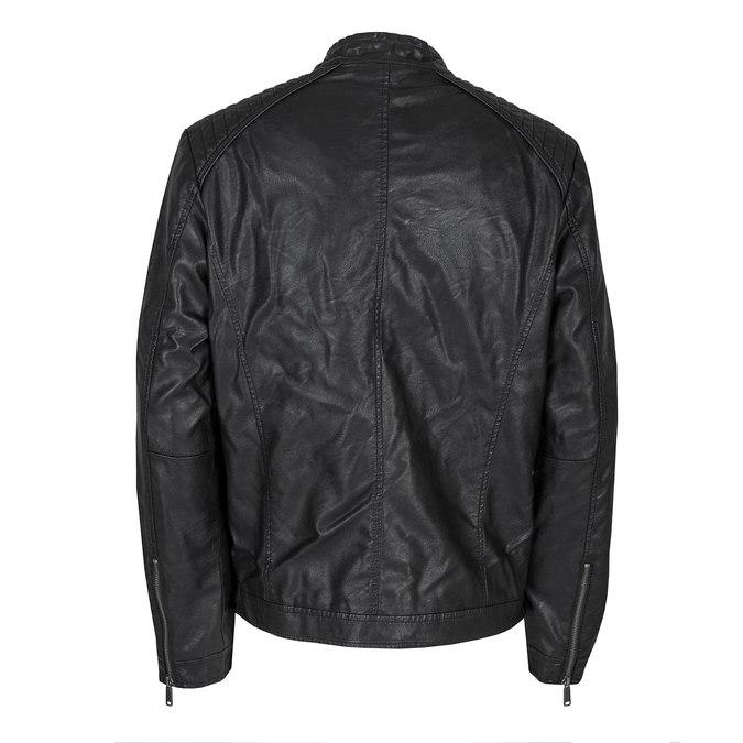 Men's Jacket with Quilting bata, black , 971-6103 - 26