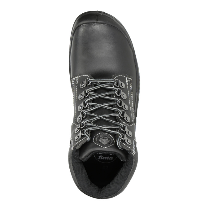 Men's Stockholm 2 KN S3 work shoes bata-industrials, black , 844-6645 - 15
