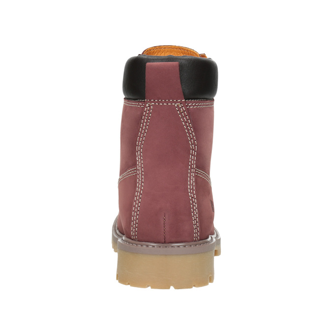 Thick-Soled Ankle Boots weinbrenner, red , 596-5664 - 16