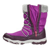 Girls' Snow Boots with Pompoms mini-b, violet , 399-5656 - 26