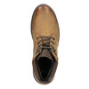 Men's Leather Winter Boots bata, brown , 896-3681 - 15