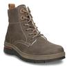 Ladies' Leather Winter Boots weinbrenner, brown , 596-4666 - 13