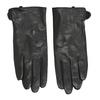 Ladies' leather gloves bata, black , 904-6129 - 26