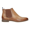 Ladies' Chelsea style leather ankle boots bata, brown , 596-3684 - 26
