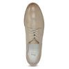 Ladies' leather shoes bata, beige , 526-8650 - 17