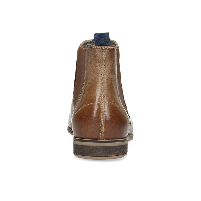 Ladies' Chelsea style leather ankle boots bata, brown , 596-3684 - 15