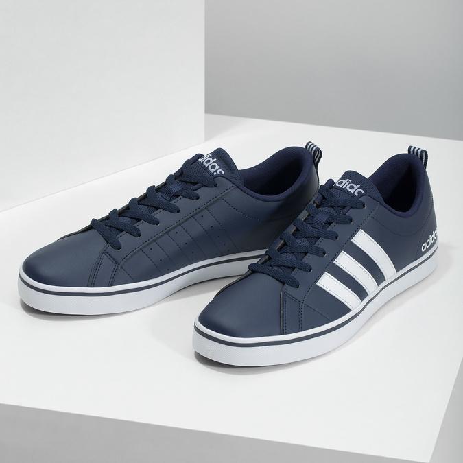 Men's casual sneakers adidas, blue , 801-9136 - 16