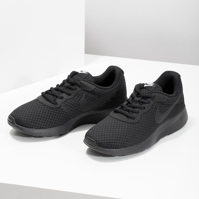 Ladies' black sneakers nike, black , 509-0157 - 16